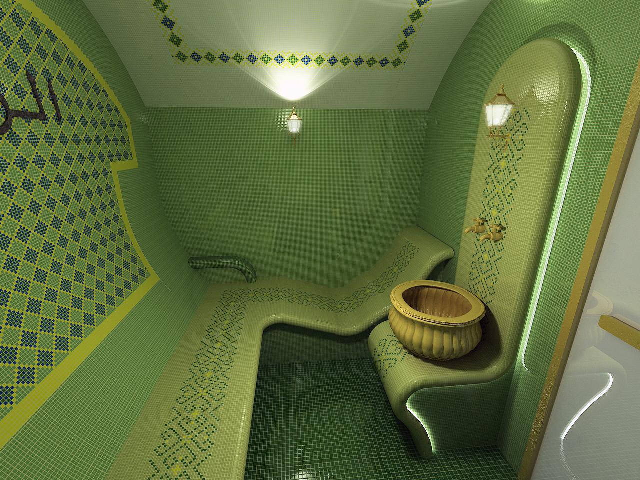 Турецкая баня своими руками в квартире